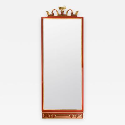 Axel Einar Hjorth Axel Einar Hjorth Swedish Art Deco Abo Mirror Nordiska Kompaniet
