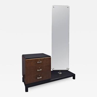 Axel Einar Hjorth Dressing Table with Mirror by Axel Einar Hjorth