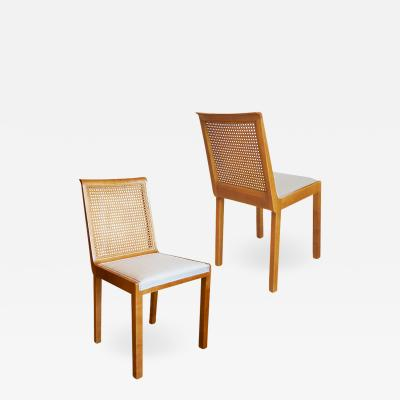 Axel Einar Hjorth Pair of Corall Chairs in Birch by Axel Einar Hjorth for Nordiska Kompaniet