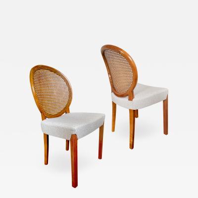 Axel Einar Hjorth Pair of Round Backed Modernist Chairs by Axel Einar Hjorth