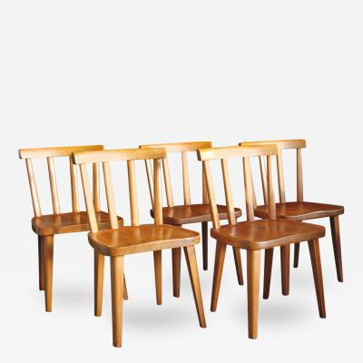 Axel Einar Hjorth Uto Pine Chairs by Axel Einar Hjorth