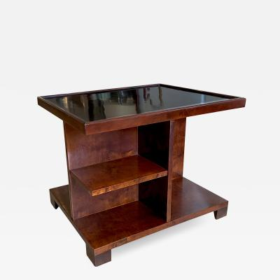 Axel Larsson Art Deco Table in Birch by Axel Larsson for SMF
