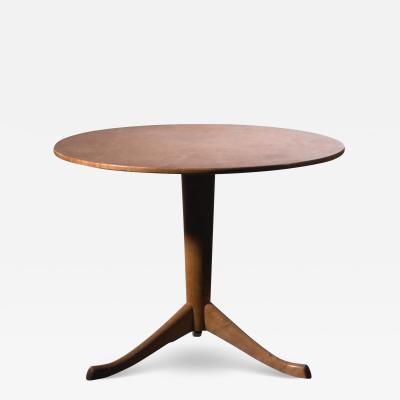 Axel Larsson Axel Larsson Round Gueridon Table Svenska M belfabriken Bodafors 1930s