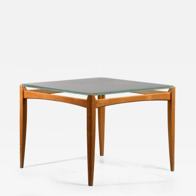 Axel Larsson Axel Larsson Table with Glass Top Bodafors Sweden 1930s