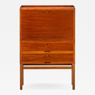 Axel Larsson Cabinet with Desk Produced by Bodafors