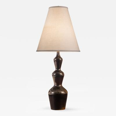 Axel Salto A Danish Glazed Stoneware Lamp by Axel Salto for Royal Copenhagen