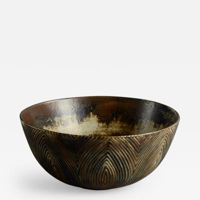 Axel Salto Axel Salto for Royal Copenhagen Bowl with Sung Glaze