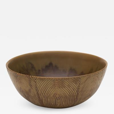 Axel Salto Unique Bowl of Stoneware