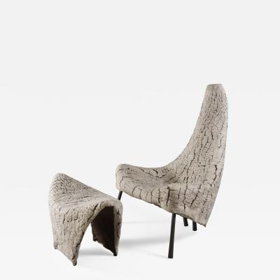 Ayala Serfaty Stella and Maris Armchair and Stool