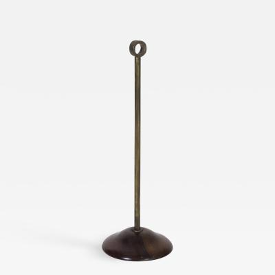 Azucena Modernist Brass Doorstop
