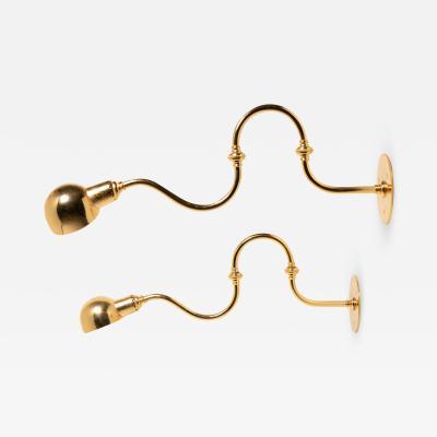 Azucena Pair of Tromba Wall Lamps by Luigi Caccia Dominioni for Azucena