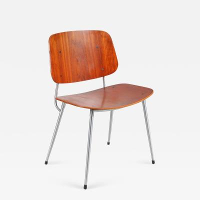 B rge Mogensen 1953s Plywood Dining Chair by B rge Mogensen for S borg M belfabrik Denmark