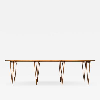 B rge Mogensen B rge Mogensen Console or Library Table by Erhard Rasmussen in Denmark