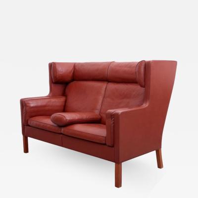 B rge Mogensen B rge Mogensen Coupe Leather Sofa 2192 Fredericia Denmark
