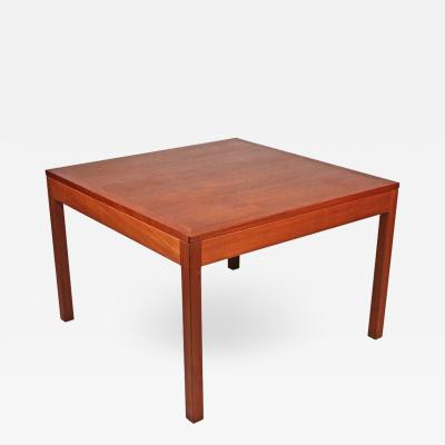 B rge Mogensen B rge Mogensen Danish Modern Occasional Table in Teak for Fredericia Stolefabrik
