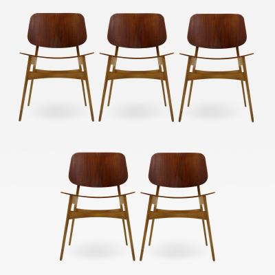 B rge Mogensen B rge Mogensen Dining Chairs Model 122 1950