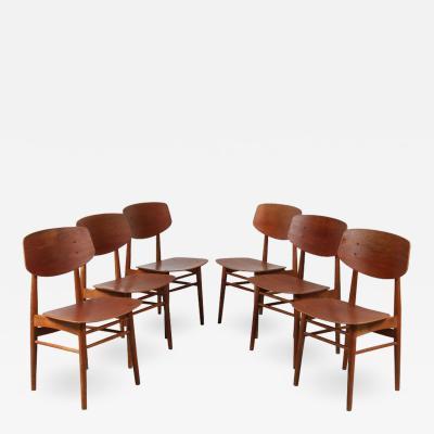 B rge Mogensen B rge Mogensen Dining Chairs for S borg M belfabrik Denmark 1950