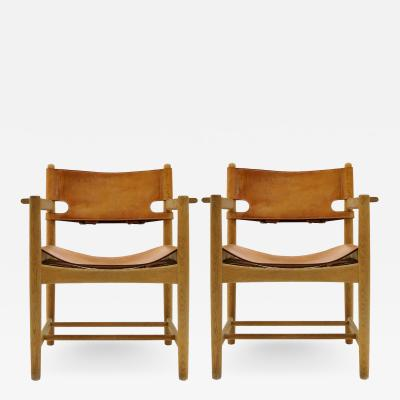 B rge Mogensen B rge Mogensen Hunting Chairs Model 3238