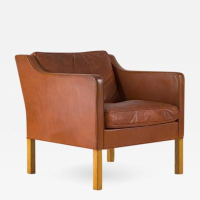 B rge Mogensen B rge Mogensen Leather Lounge Chair