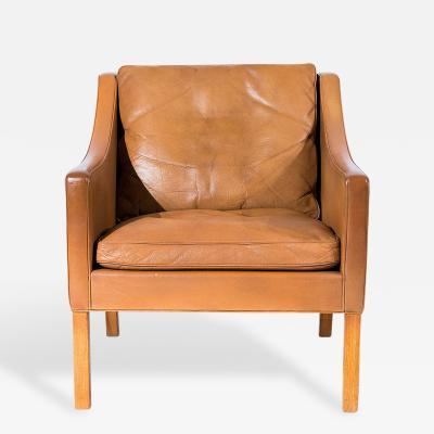 B rge Mogensen B rge Mogensen Model No 2207 Leather Lounge Chair