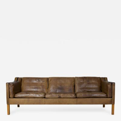B rge Mogensen Borge Mogensen Model 2213 Three Seat Sofa