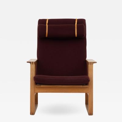 B rge Mogensen Lounge chair in oak
