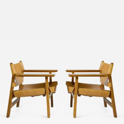 B rge Mogensen Pair of B rge Mogensen Spanish Chairs