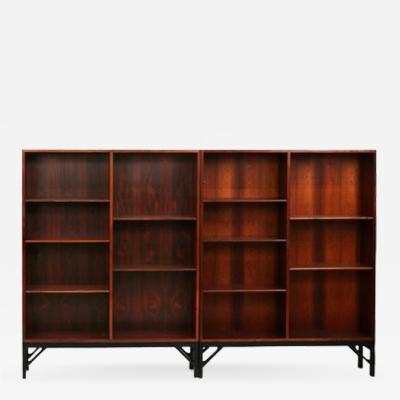 B rge Mogensen Pair of Midcentury B rge Mogensen Rosewood Bookcases Denmark 1960s