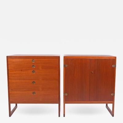 B rge Mogensen Pair of Teak Cabinets by B rge Mogensen for P Lauritsen Son BM 59