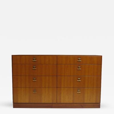 B rge Mogensen Rare Borge Mogensen Dresser with Brass Pulls