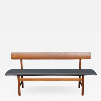 B rge Mogensen Scandinavian Modern Bench by Borge Mogensen for Federica