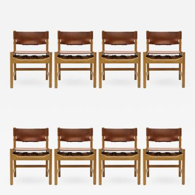 B rge Mogensen Set of B rge Mogensen Dining Chairs 1961