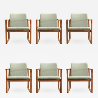 B rge Mogensen Six B rge Mogensen Dining Chairs