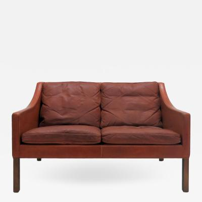 B rge Mogensen Two Seater Sofa Model 2208 by Borge Mogensen