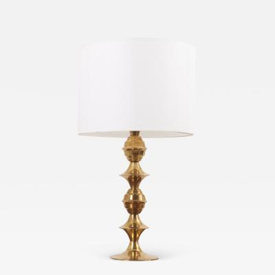 B rje Claes Table Lamp by B rje Claes for Norelett Sweden 1960s