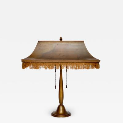 BAG Turgi Bronzewarenfabrik AG Turgi BAG TURGI 1920s Desk Lamp Switzerland