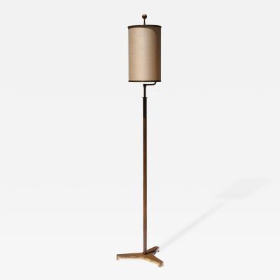 BAG Turgi Bronzewarenfabrik AG Turgi BAG Turgi Floor Lamp Switzerland 1936