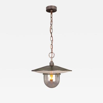 BAG Turgi Bronzewarenfabrik AG Turgi Swiss Street Lamp by BAG TURGI 1920s
