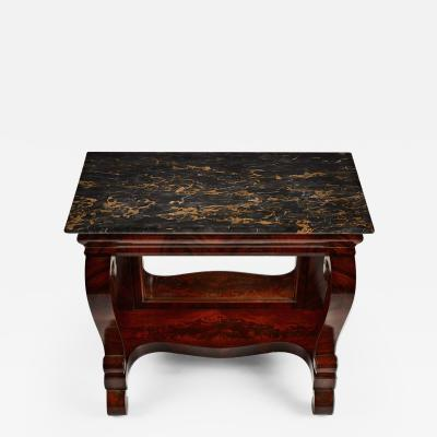 BALTIMORE MARBLE TOP PIER TABLE
