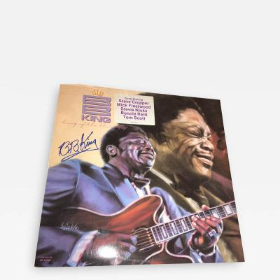 BB KING KING OF THE BLUES AUTOGRAPHED ALBUM