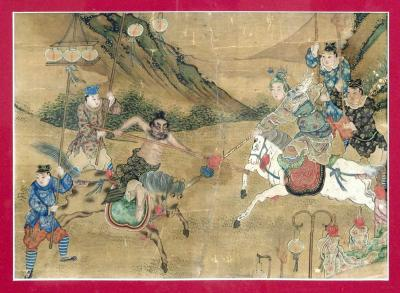 BEAUTIFUL CHINESE PAINTING 18TH C