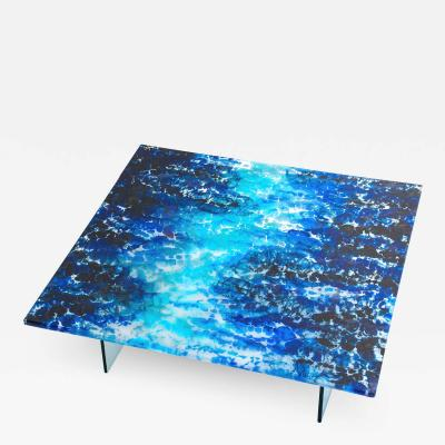 BOILED GLASS COFFEE TABLE