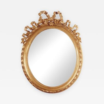 BOW OVAL MIRROR