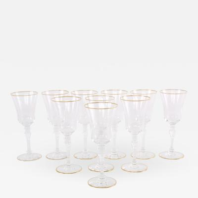 Baccarat Crystal Barware Tableware Service Ten People