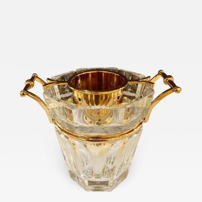 Baccarat France Harcourt Crystal Champagne Bucket Cooler