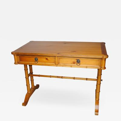 Baker Faux Bamboo Writing Desk