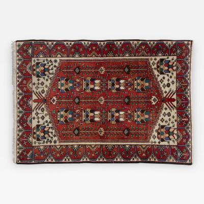 Bakh Tiar Persian Rug Circa 1950