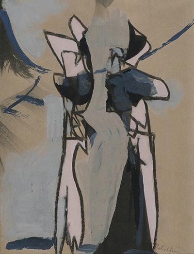 Balcomb Greene Untitled two figures