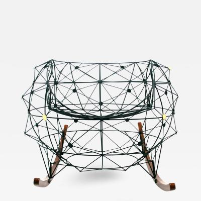 Baltasar Portillo Constellation Rocker Functional Art Chair by Baltasar Portillo