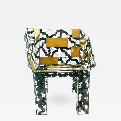 Baltasar Portillo Tomar Functional Art Chair by Baltasar Portillo
